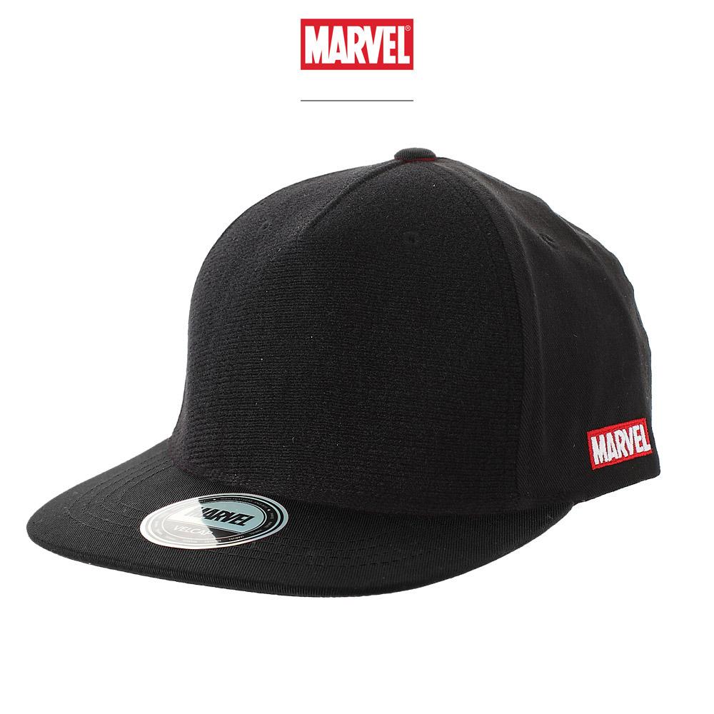 마블 스냅백 모자 블랙
