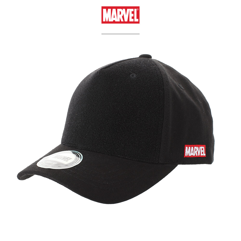 마블 볼캡 모자 블랙